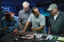 Morgan Freeman, Alan Arkin, John Ortiz et Michael Caine dans Going in Style (2017)