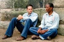Morgan Freeman et Tim Robbins dans The Shawshank Redemption (1994)