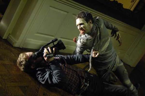 Philip Riccio et Joshua Close dans Diary of the Dead (2007)