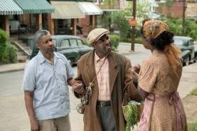 Denzel Washington, Viola Davis, et Mykelti Williamson dans Fences (2016)