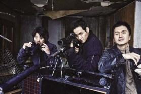Jang Hyun-sung, Kim Yoon-seok et Park Hae-joon dans Monster Boy (2013)