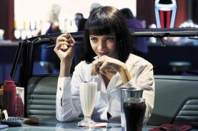 Uma Thurman dans Pulp Fiction (1994)