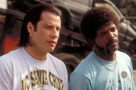 Samuel L. Jackson et John Travolta dans Pulp Fiction (1994)