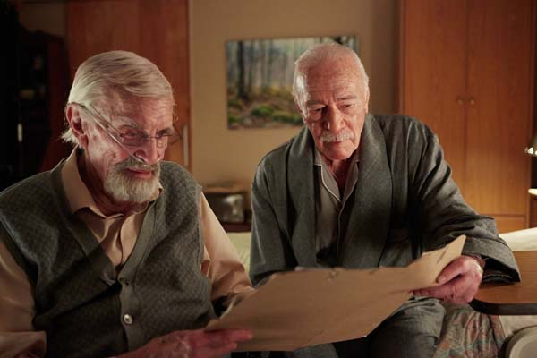 Martin Landau et Christopher Plummer dans Remember (2015)
