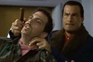 Steven Seagal et Silas Weir Mitchell dans Piège à Haut Risque (1998)