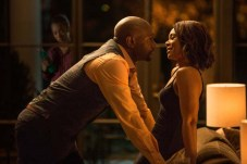 Morris Chestnut, Regina Hall, et Jaz Sinclair dans When the Bough Breaks (2016)