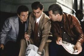 Robert De Niro, Ray Liotta, et Joe Pesci dans Goodfellas (1990)