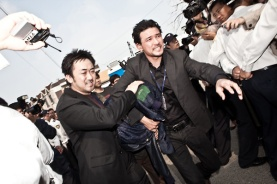 Jung-min Hwang et Dong-seok Ma dans The Unjust (2010)