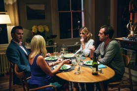 David Morrissey, Clémence Poésy, Laura Birn, et Stephen Campbell Moore in London House (2015)
