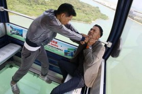 Nick Cheung et Simon Yam dans Nightfall (2012)