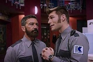 Antonio Banderas et Liam McIntyre dans Security (2017)