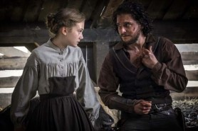 Kit Harington et Emilia Jones dans Brimstone (2016)