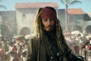 Johnny Depp dans Pirates des Caraïbes: la Vengeance de Salazar (2017)