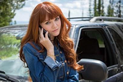 Hannah Rose May dans The Recall (2017)