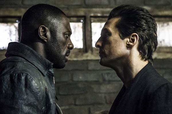 Matthew McConaughey et Idris Elba dans The Dark Tower (2017)