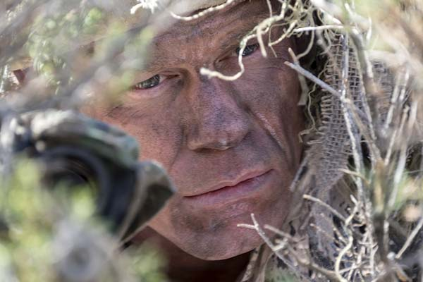 John Cena dans The Wall (2017)