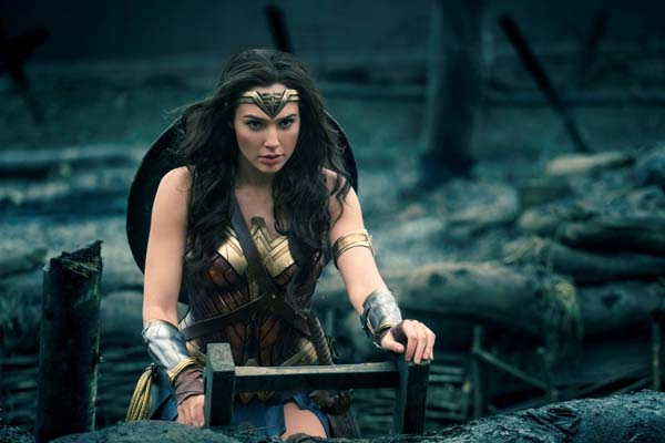 Gal Gadot dans Wonder Woman (2017)