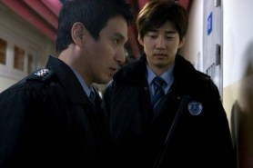 Yoon Kye-sang et Jo Jae-hyeon dans The Executioner (2009)