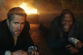 Samuel L. Jackson et Ryan Reynolds dans The Hitman's Bodyguard (2017)