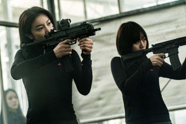 Kim Ok-bin dans The Villainess (2017)