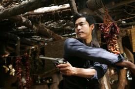 Jung Woo-sung dans Le Bon, la Brute et le Cinglé (2008)