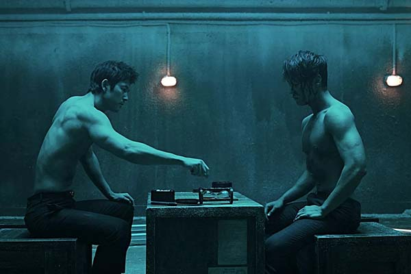 Jung Woo-sung et Choi Jin-hyuk dans The Divine Move (2014)