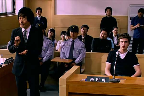 Oh Kwang-rok dans The Case of Itaewon Homicide (2009)