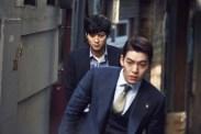 Kang Dong-won et Kim Woo-bin dans Master (2016)
