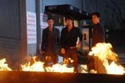 Shawn Yue, Nicholas Tse et Jaycee Chan dans Invisible Target (2007)