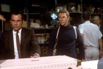 Steve McQueen et and Don Gordon dans Bullitt (1968)