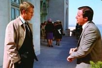 Steve McQueen et Don Gordon dans Bullitt (1968)