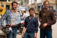 Daniel Radcliffe, Alex Russell, et Joel Jackson dans Jungle (2017)