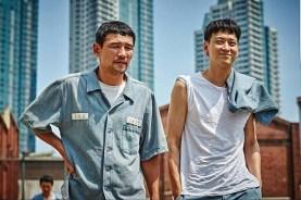 Hwang Jung-min et Kang Dong-won dans A Violent Prosecutor (2016)