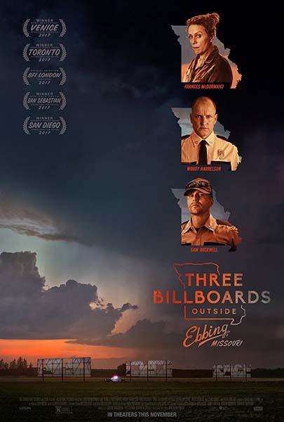 3 Billboards Les panneaux de la vengeance (2017)