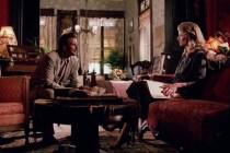 Mickey Rourke et Charlotte Rampling dans Angel Heart (1987)