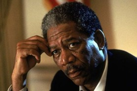 Morgan Freeman dans Deep Impact (1998)