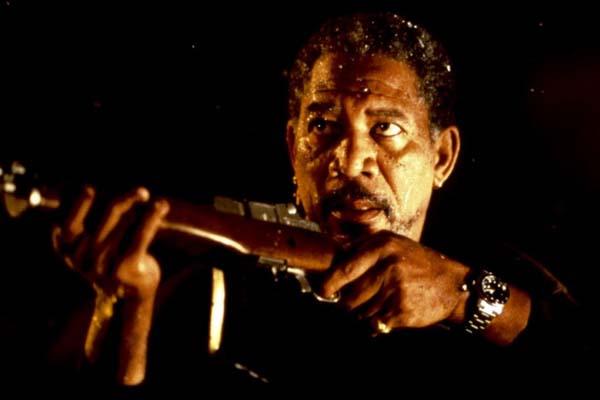 Morgan Freeman dans Hard Rain (1998)