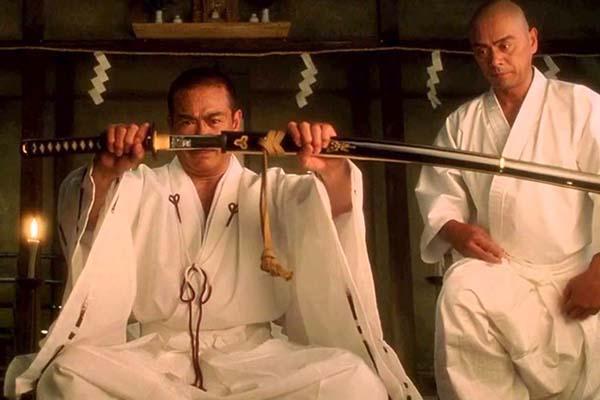 Shin'ichi Chiba et Chia-Hui Liu dans Kill Bill: Vol. 1 (2003)