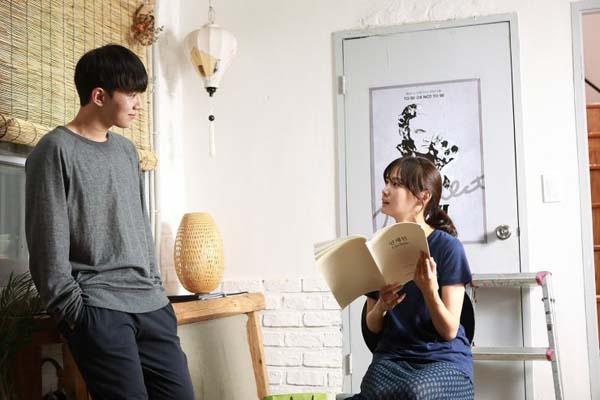 Yoon Seung-ah et Oh Seung-hoon dans Method (2017)