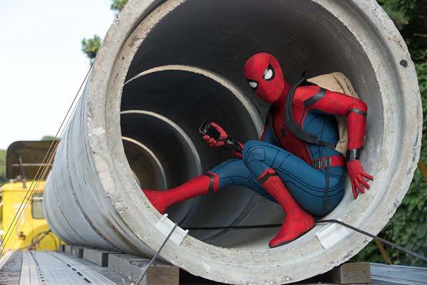 Tom Holland dans Spider-Man: Homecoming (2017)