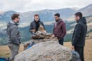 Sam Troughton, Rafe Spall, Robert James-Collier, et Arsher Ali dans The Ritual (2017)