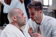 Brad Pitt et Bruce Willis dans L'Armée des 12 Singes (1995)