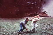 Helen Hunt et Bill Paxton dans Twister (1996)