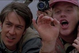 Philip Seymour Hoffman et Alan Ruckdans dans Twister (1996)