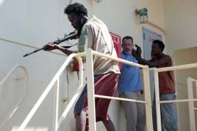 Tom Hanks, Faysal Ahmed, et Mahat M. Ali dans Captain Phillips (2013)