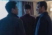 Kim Myung-min, Jang Dong-gun et Lee Jong-suk dans V.I.P. (2017)