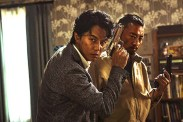 Masaharu Fukuyama et Zhang Hanyu dans Manhunt (2017)