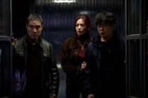 Bae Seong-woo, Im Jin-ah et Ahn Se-ha dans The Swindlers (2017)