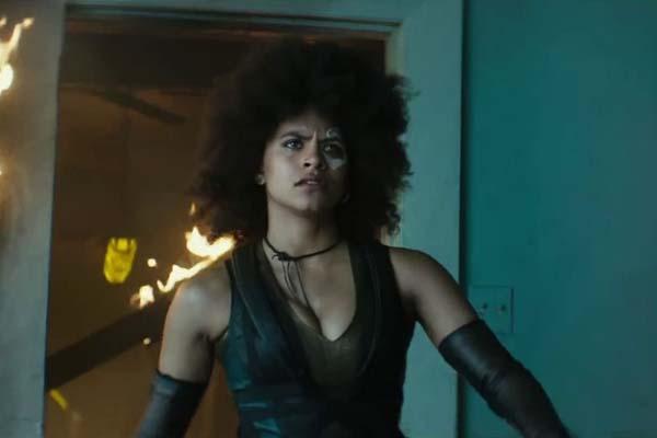 Zazie Beetz dans Deadpool 2 (2018)