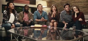 Jason Bateman, Rachel McAdams, Sharon Horgan, Lamorne Morris, Billy Magnussen, et Kylie Bunbury dans Game Night (2018)